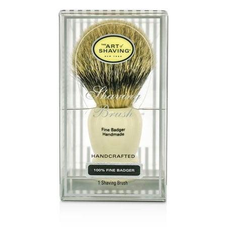 Best Art of Shaving Fine Badger Shaving Brush, Ivory deal