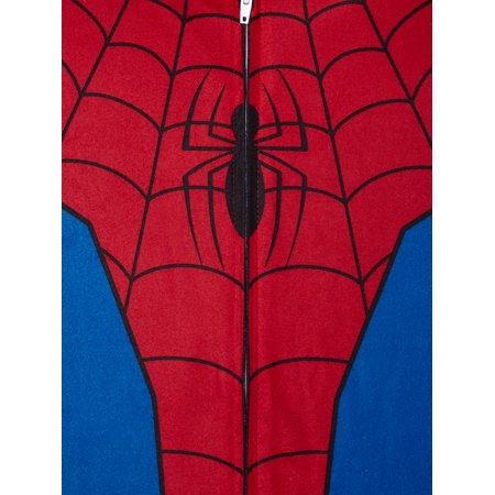 Spiderman Boys Pajama Blanket Sleeper, Sizes 4-12