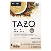 TAZO Chai Latte Black Tea K-Cup® Pods 6 Count