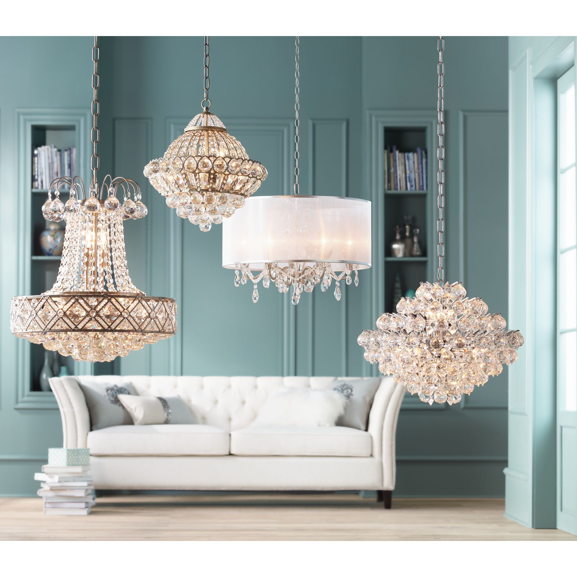 Vienna Full Spectrum Wallingford 16 Wide Antique Br And Crystal Chandelier