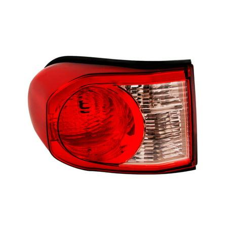 Xtune Toyota Fj Cruiser 07-14 Driver Side Tail Lights - OEM Left ALT-JH-TFJ07-OE-L