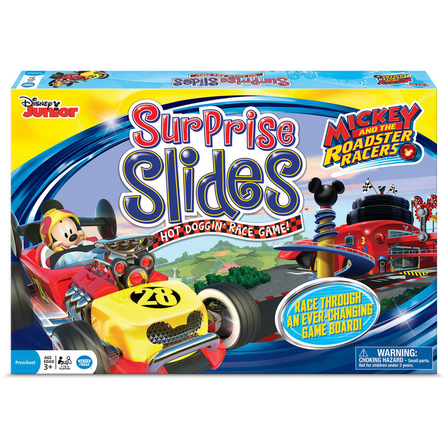 Disney Mickey and the Roadster Racers Surprise Slides Game