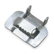 BAND-IT GRC354 Strapping Buckle,1/2 In.,Banding,PK50