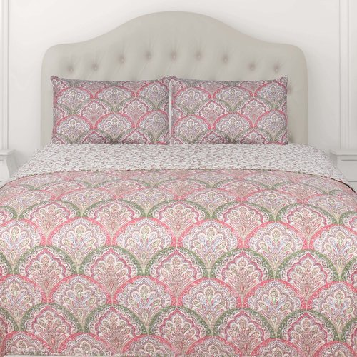 Dainty Home Fall 2015 Grace 3 Piece Reversible Coverlet Set