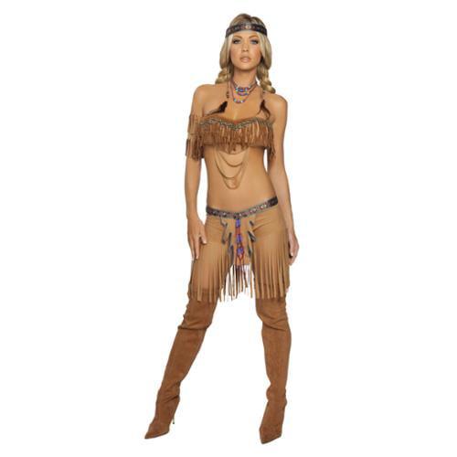 Adult Cherokee Warrior Costume Roma 4205