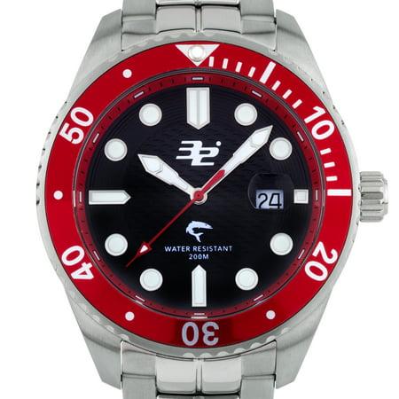 32 Degrees Blacktip Mens Swiss Made Diver Watch