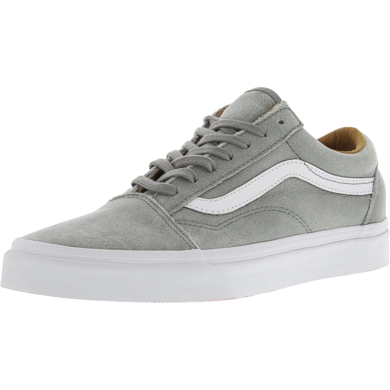Vans Old Skool Premium Leather Wild Dove True White Ankle