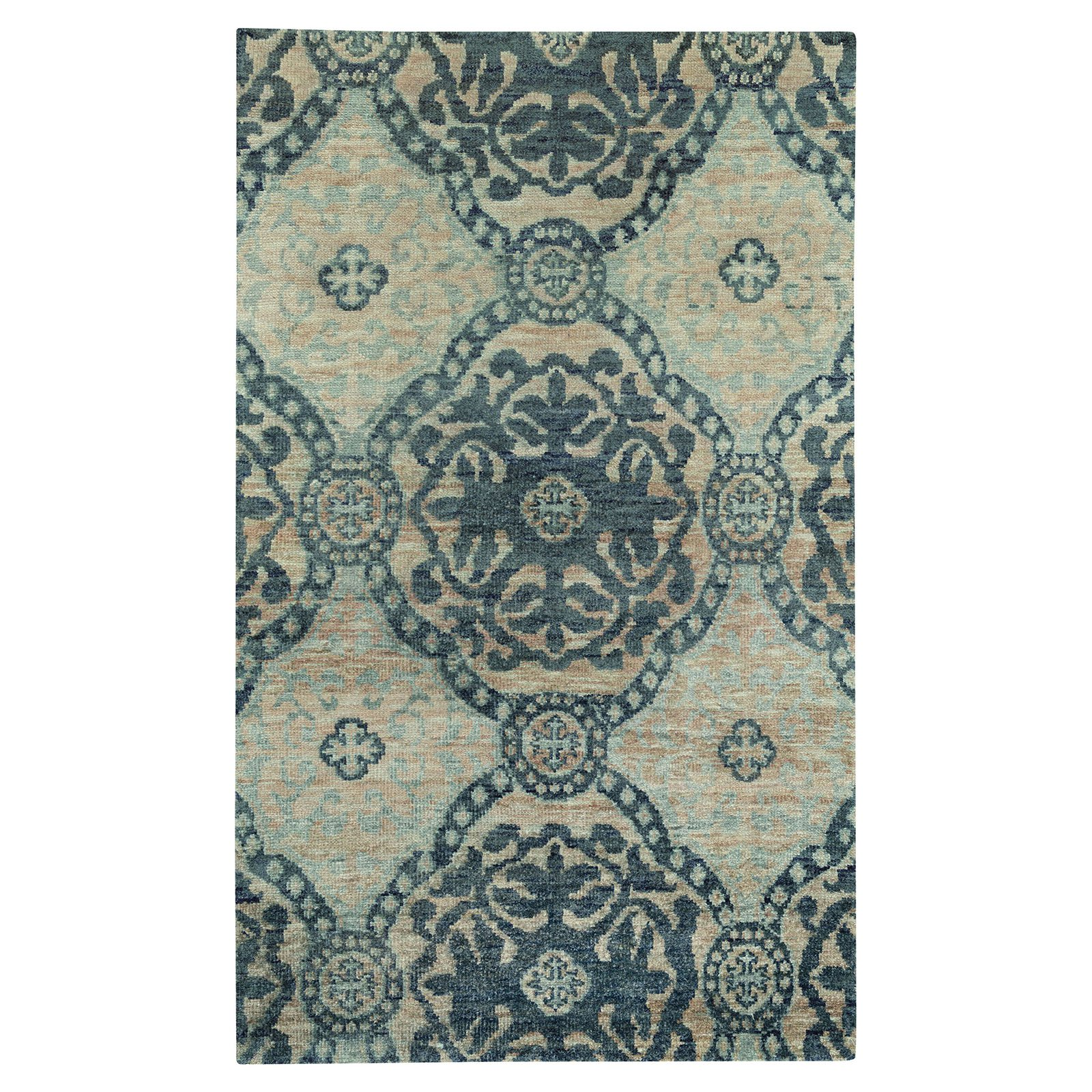 Round About Ring Leader Hand-Knotted Area Rug