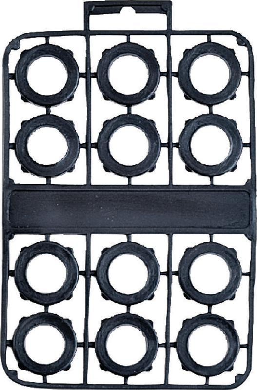 ProSource GM2073L Garden Hose Washers, PVC, 12 Pc by Mintcraft