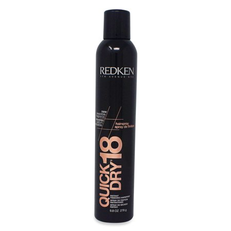 Redken Quick Dry 18 Instant Finishing Spray, 9.8