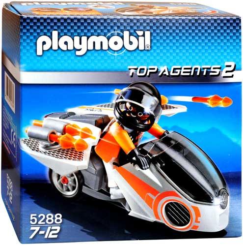 Top Agents 2 Spy Team Skybike Set Playmobil 5288 by