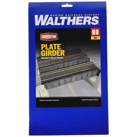 Walthers Cornerstone Series Kit HO Scale Through-Plate Girder Bridge