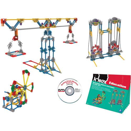 K'NEX Education Building Simple Machines Class Set
