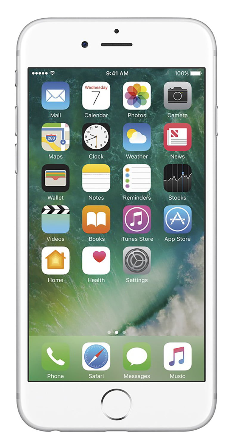 Apple iPhone 6s 16GB Unlocked GSM 4G LTE 12MP Cell Phone Silver (Certified Refurbished) by Apple