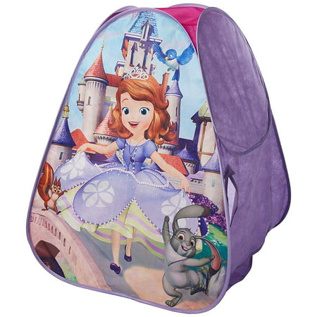 (Sofia the First Classic Hideaway Playhouse, U-Flap Door for Easy Access By Playhut Ship from US)