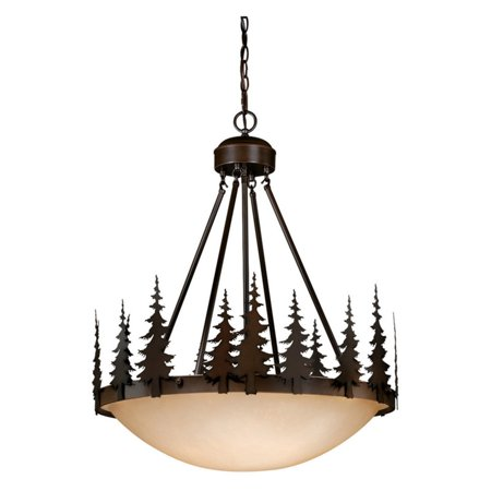 Vaxcel Yosemite Pendant - 24W in. Burnished Bronze
