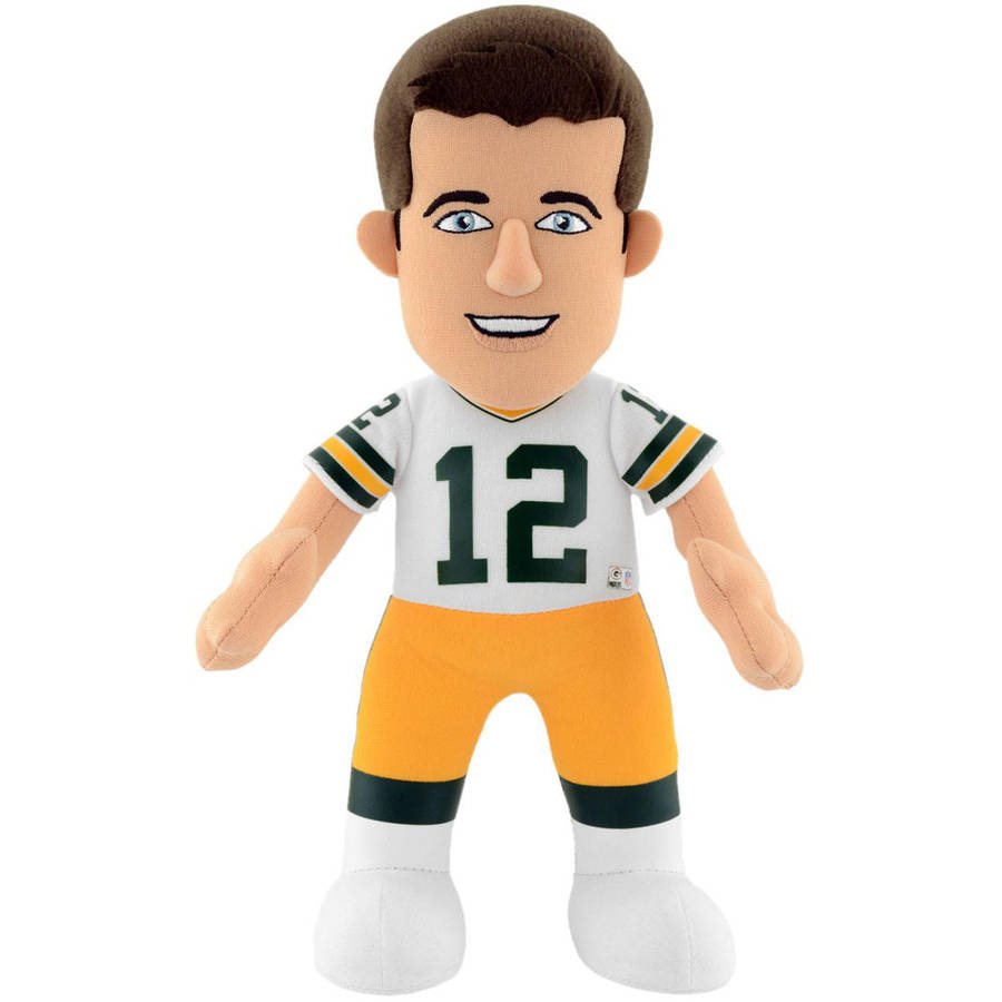 "NFL Green Bay Packers Aaron Rodgers 10"" Plush Figure"