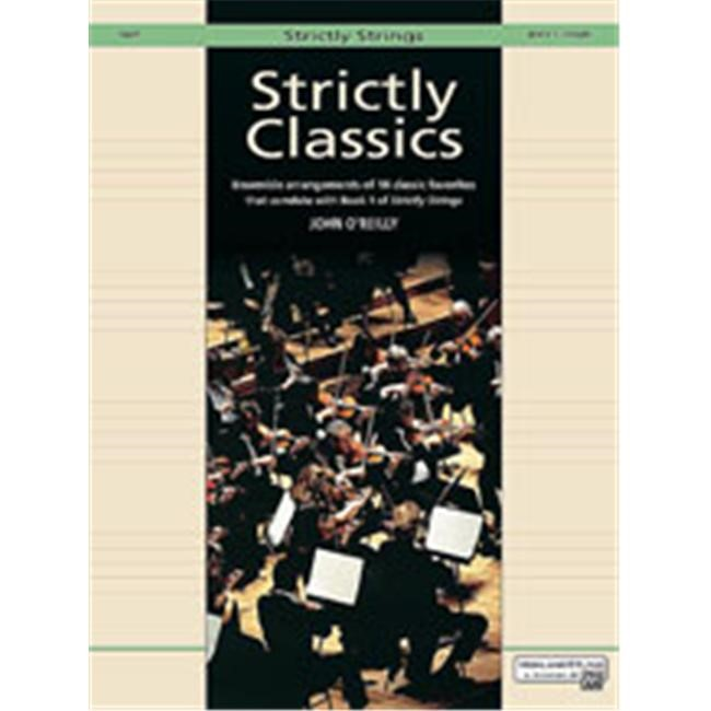 Alfred 00-14637 Strictly Classics- Book 1 - Music Book