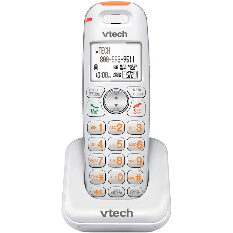 VTech SN6107 DECT 6.0 CareLine Accessory Handset for SN6187