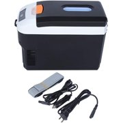 10L Portable Intelligent Digital Display Mini Refrigerator Dual Use Electric Freezer for Home Outdoor Office Car Travel(US)