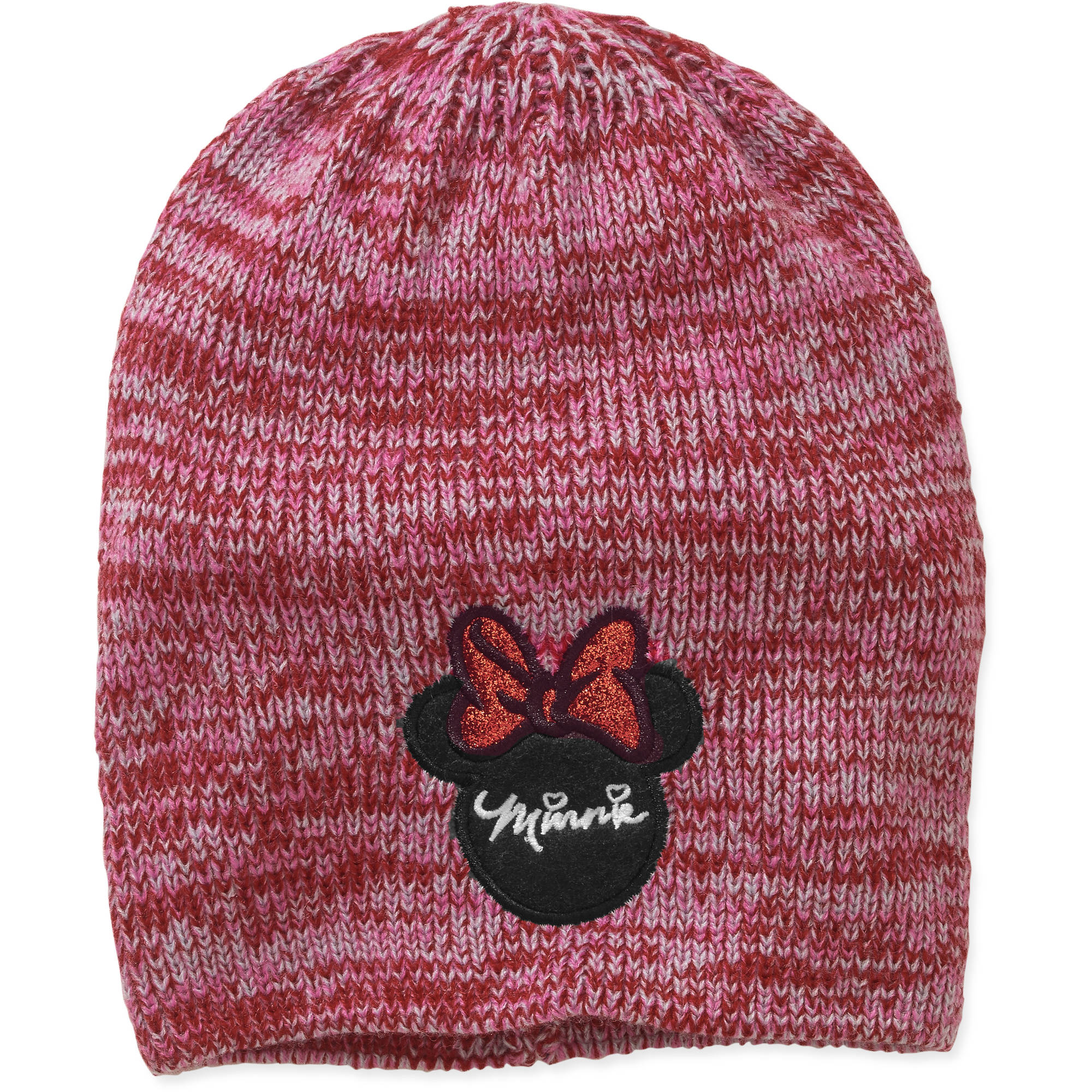 Women's Minnie Mouse Marled Slouch Beanie
