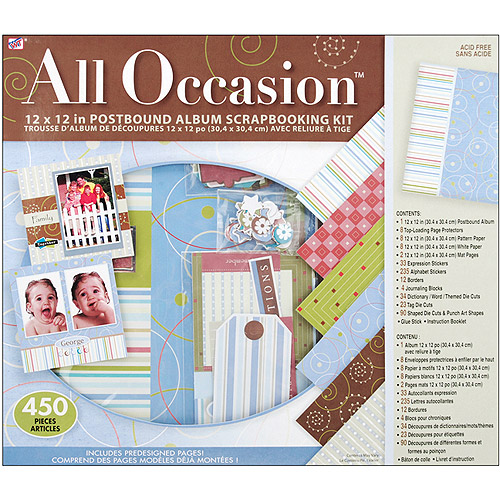 Scrapbooking Kit 12X12, All Occasion
