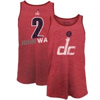 John Wall Washington Wizards Majestic Threads Name & Number Tri-Blend Tank Top - Red