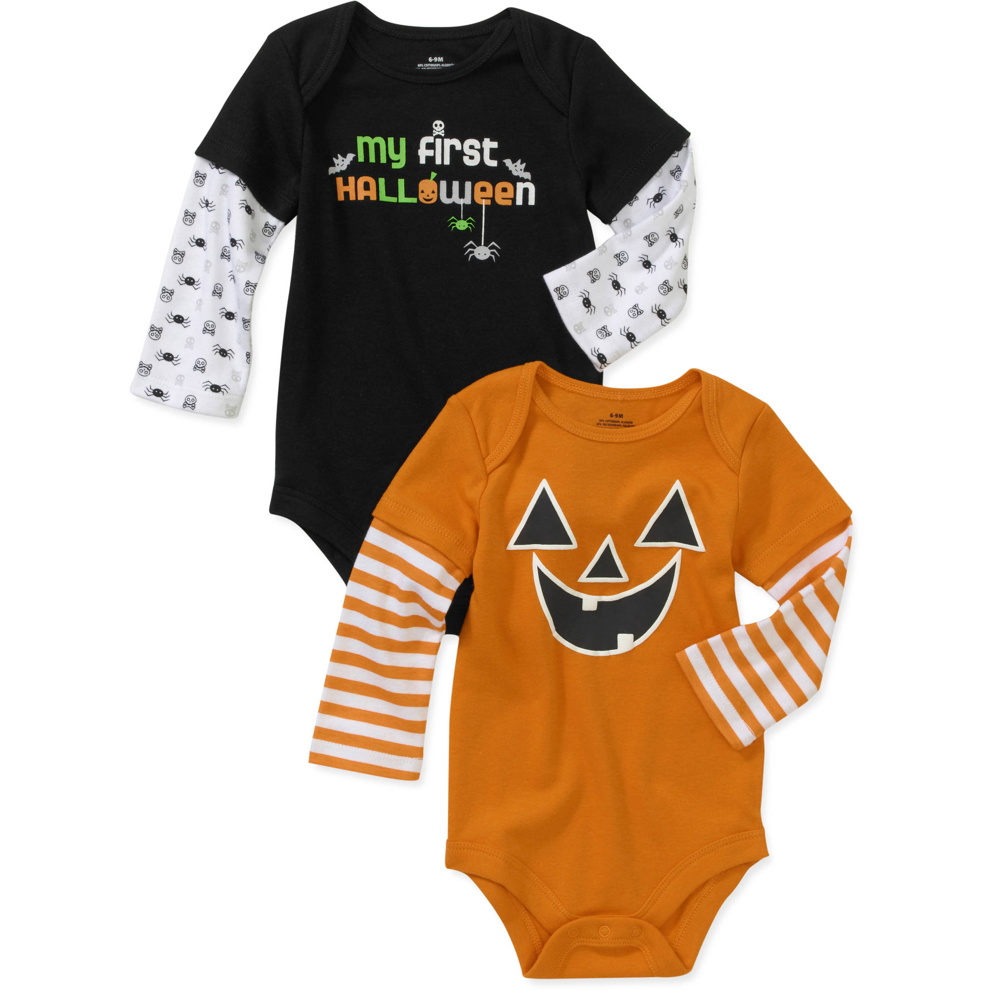 Faded Glory Newborn Boys' Halloween Hang