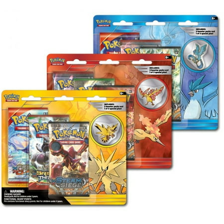 Pokemon Trading Card Game: Collectors Pin 3-Pack ()