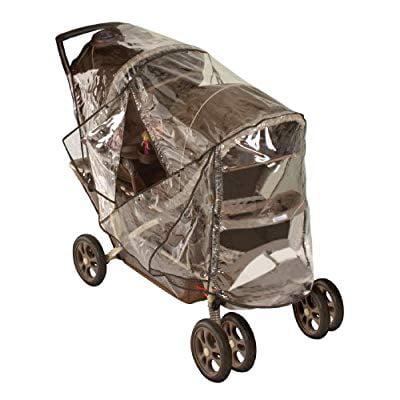 TWIN BABY Stroller Cart Universal Pushchair DOUBLE Rain Cover Dust Wind Shiel TW