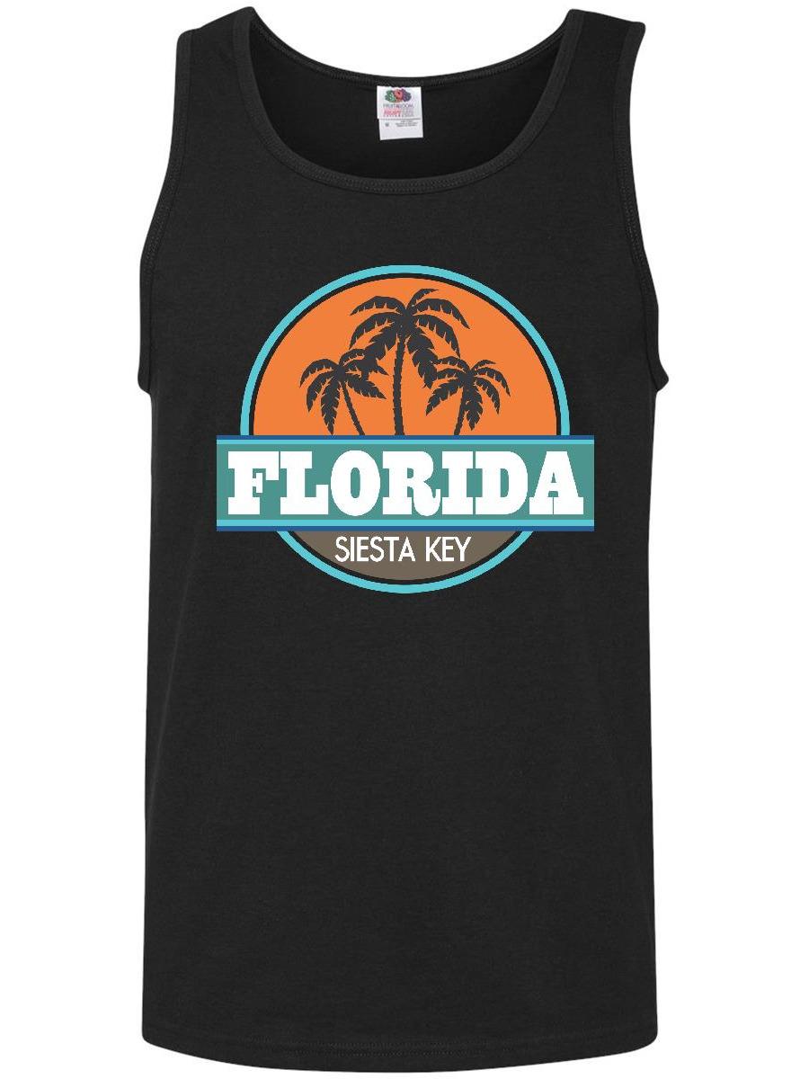 Siesta Key Florida Vacation Gift Men's Tank Top