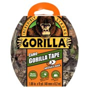 Gorilla Tape, 9yd. Mossy Oak Camo