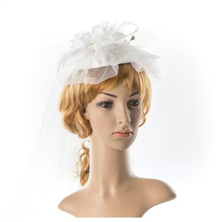 Bohemian Wedding Veil Short Cascade Simple Design Bridal