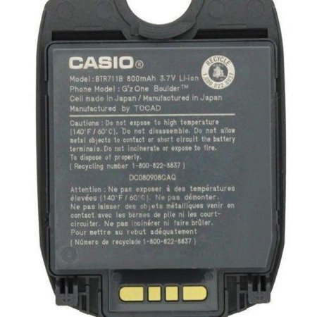 NEW GENUINE OEM CASIO BTR711B Standard battery for GZONE C711 BOULDER - C711 Casio Gzone Boulder