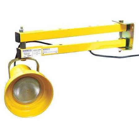 Wesco 272224 Dock Light  Incandescent  24 In Arm