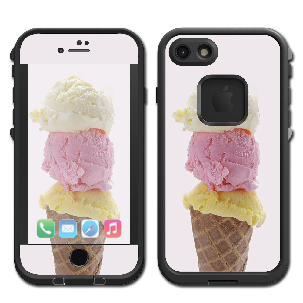 Skins Decals For Lifeproof Fre Iphone 7 Case / Ice Cream Cone