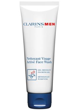 Clarins Active Facial Cleanser, Face Wash for Men, 4.4 Oz