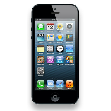 Refurbished Apple iPhone 5 16GB, Black - Unlocked GSM (Mobile Phone Unlocked Sony)
