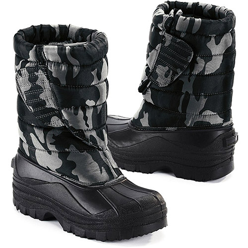 Boys' Quilted Winter Boots