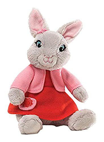 Gund Lily Bobtail Beanbag Stuffed Animal, Lily Bobtail plush complete with pink dress,... by