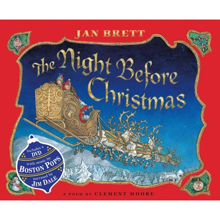 The Night Before Christmas : Book & DVD](Halloween The Night Before Christmas)
