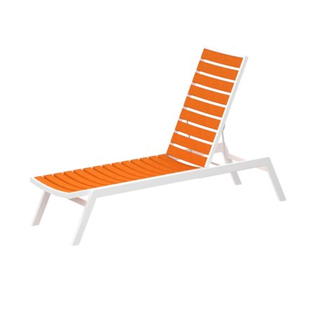 Euro recycled hdpe lumber chaise for Chaise 20 euros