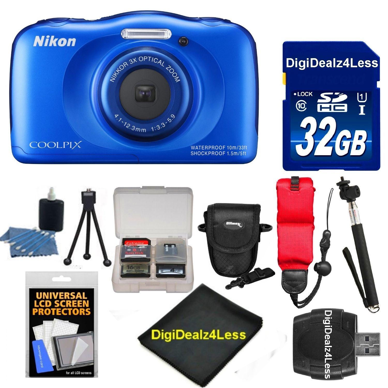 Nikon COOLPIX S33 Waterproof Shockproof 13.2 MP Digital C...