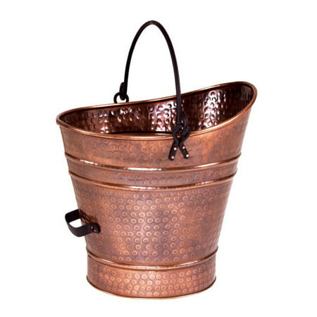 Minuteman International Copper Coal Hod/Pellet Bucket
