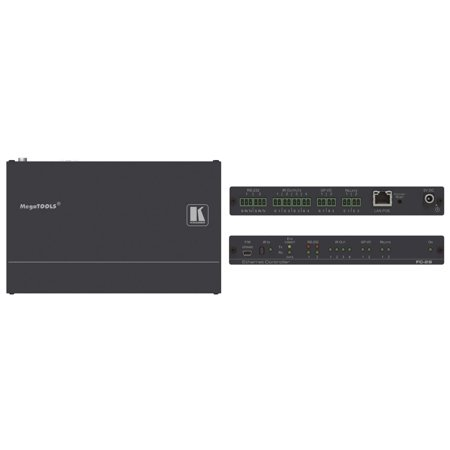 Serial Port Control (Kramer FC-28 10-port Serial, IR, GPI/O and Relay, PoE Control Gateway)