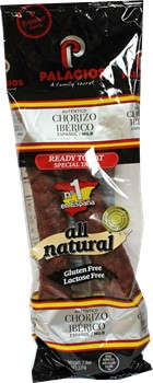 Chorizo Iberico de Palacios Imported from Spain 7.9 oz by