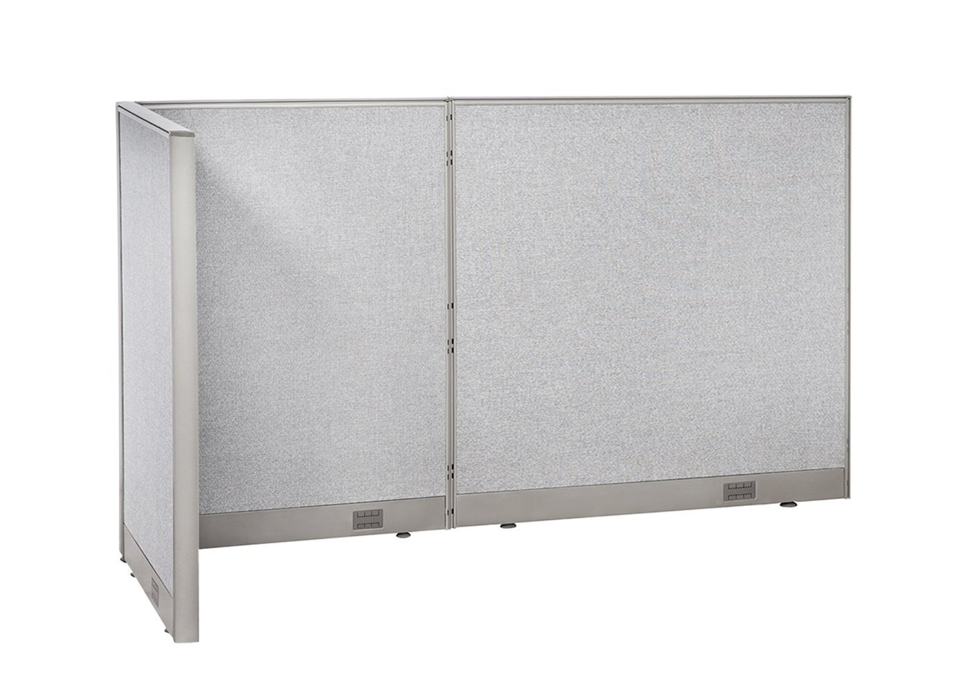 office room dividers. GOF L-Shaped Freestanding Office Panel Cubicle Wall Divider Partition 36D X 84W 48H Room Dividers