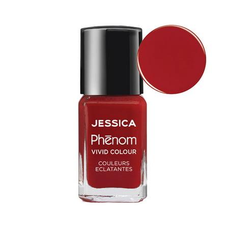 Jessica Nails Diamonds (JESSICA PHENOM Nail Lacquer 0.5oz/15ml - JESSICA RED 021 )