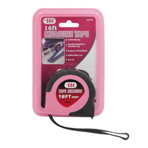 IIT 88430 Ladies Pink 16-Feet Tape Measure