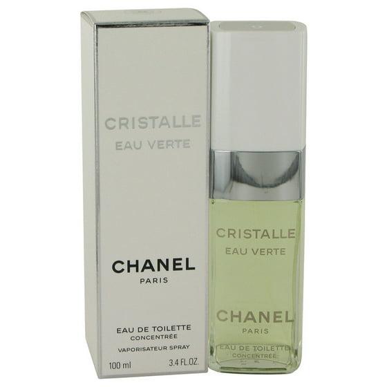 CHANEL - Cristalle Eau Verte by Chanel - Women - Eau De Toilette Concentree  Spray 3.4 oz - Walmart.com 5a8b087d3a